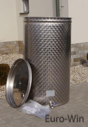 Zaawansowane Zbiornik nierdzewny inox Eko - 500 L (1317 zł netto) Euro-Win HU31