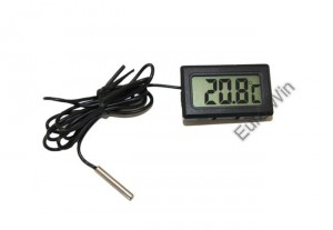 Termometr cyfrowy LCD  -50 do 110 C