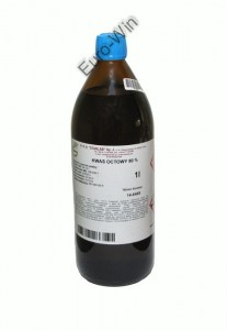 Kwas octowy 80% - 1 L